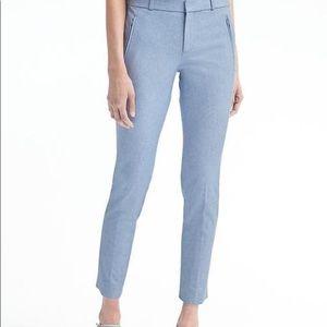 Banana Republic Light Blue Sloan Skinny Fit  Pants